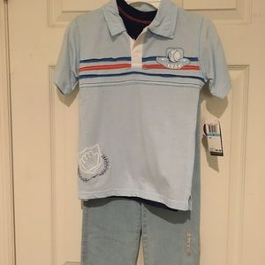 Boys 3 piece outfit size 5